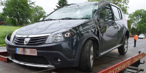 Un blessé dans un accident à Chapelle-à-Wattines - La DH
