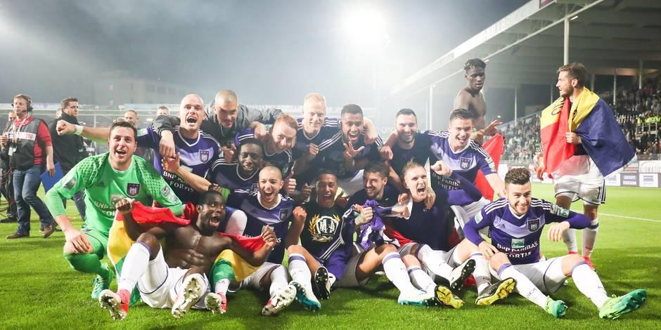 Anderlecht champion: Toutes les statistiques de la saison mauve