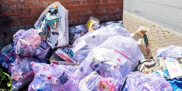 Frameries fait appel à une société privée pour ramasser les poubelles - La DH