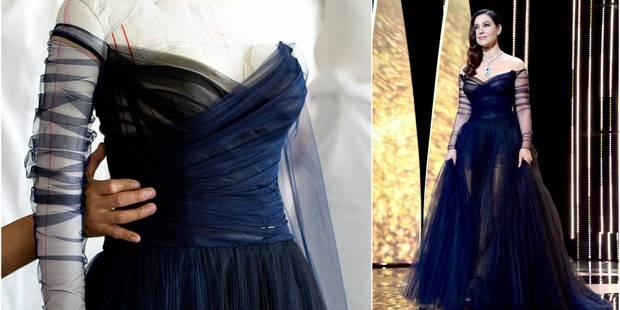 Comment a été faite la robe de Monica Bellucci dont tout le monde parle ? - La DH