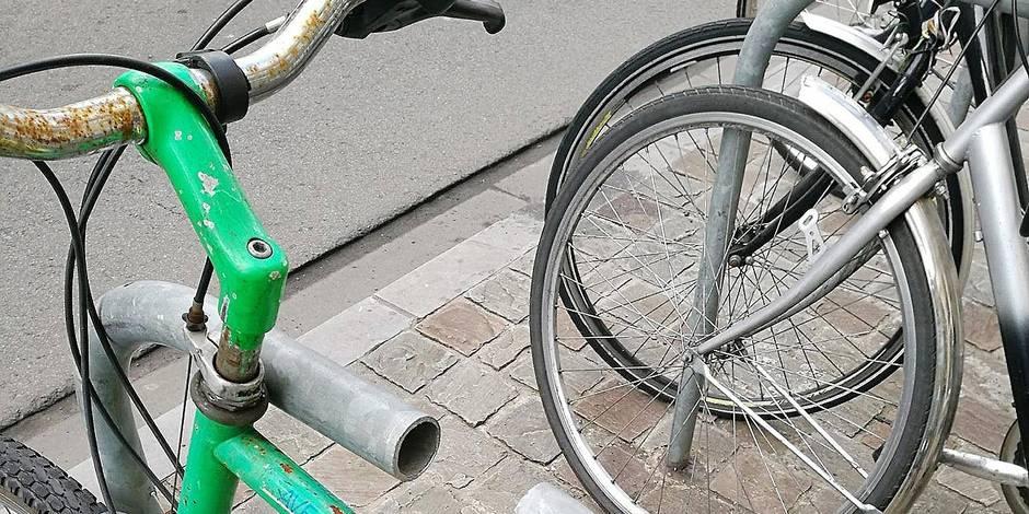Bruxelles-Ville, la plus prisée des voleurs de vélos
