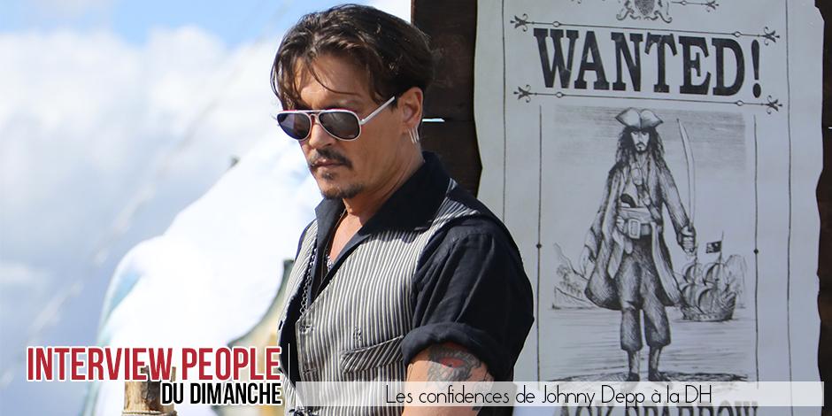les confidences de Johnny Depp sur sa vie, son parcours et ses dérives - La DH