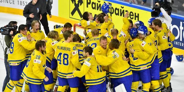 Hockey sur glace: la Suède surprend le Canada en finale pour décrocher son 10e titre de champion du monde - La DH