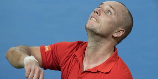 Steve Darcis renonce à participer en raison d'une blessure musculaire au tournoi ATP de Lyon - La DH