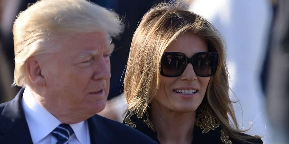Trump rencontre Macron, loue sa