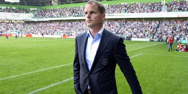 """Frank de Boer: """"Oui, le FC Bruges s'intéresse à moi"""" - La DH"""