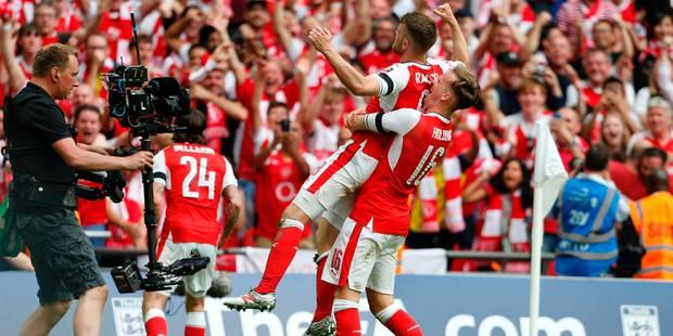 Au terme d'une fin de match haletante, Arsenal dompte Chelsea et remporte la FA Cup (2-1) - La DH