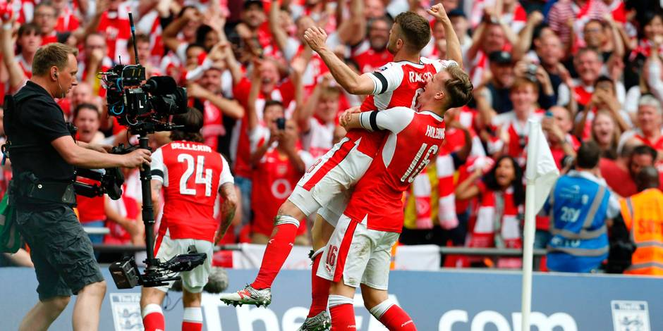 Au terme d'une fin de match haletante, Arsenal dompte Chelsea et remporte la FA Cup (2-1)