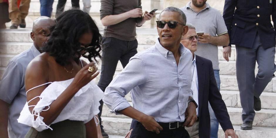 Michelle Obama mène la dolce vita en Italie et se libère côté style