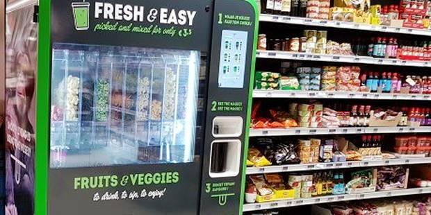 Une première en Belgique: le distributeur de smoothies - La DH