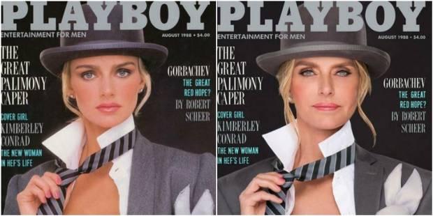 Leur couverture Playboy recréée plus de 30 ans après - La DH