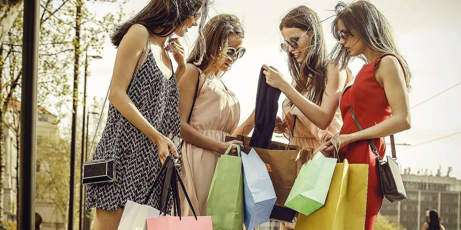 Les Belges dépensent en moyenne 90€ lors d'une journée shopping - La DH