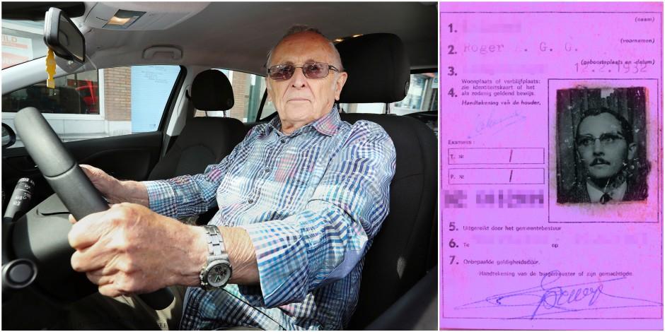 85 ans il passe son permis de conduire pour la premi re fois et le valide la dh. Black Bedroom Furniture Sets. Home Design Ideas