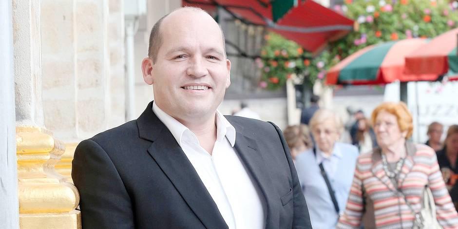 Philippe Close, Echevin des Finances, du Personnel et du Tourisme.
