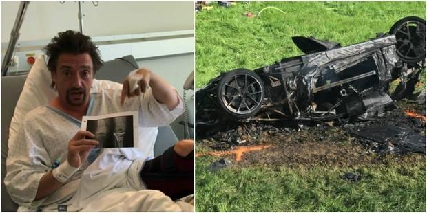 L'ex animateur de Top Gear échappe à la mort (PHOTOS) - La DH