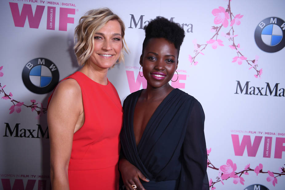 Lupita N'yango, magnifique avec Nicola Maramotti