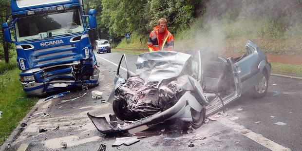 Brabant wallon: Un accident sur deux a lieu à Jodoigne - La DH