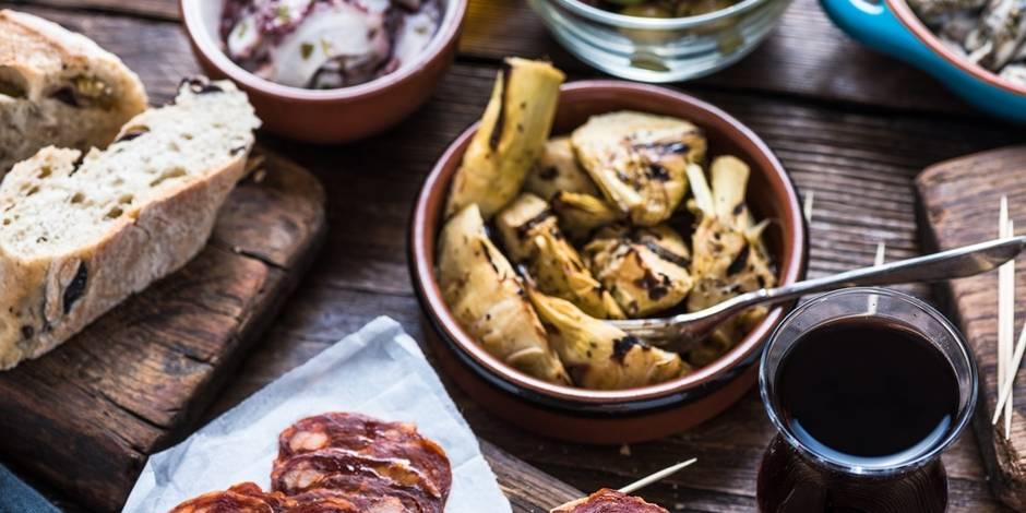 9 restaurants espagnols où manger de bons tapas