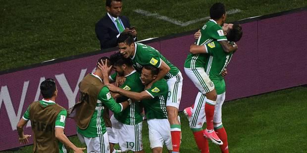 Coupe des Confédérations: le Mexique renverse la Nouvelle-Zélande - La DH