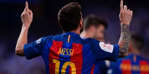 Le parquet disposé à remplacer la peine de prison de Messi par une amende - La DH