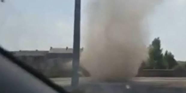 Un jeune homme filme une mini-tornade en Belgique (VIDEO) - La DH