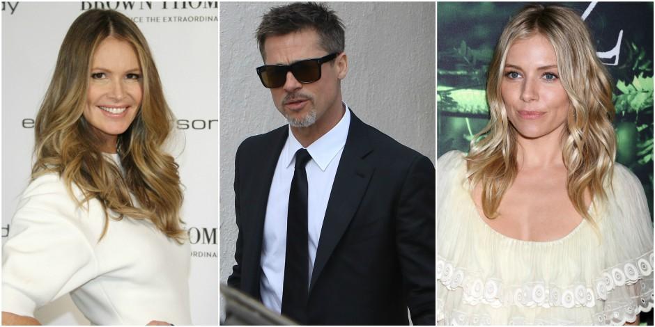 Elle Macpherson, Sienna Miller, les nouveaux flirts de Brad Pitt ?
