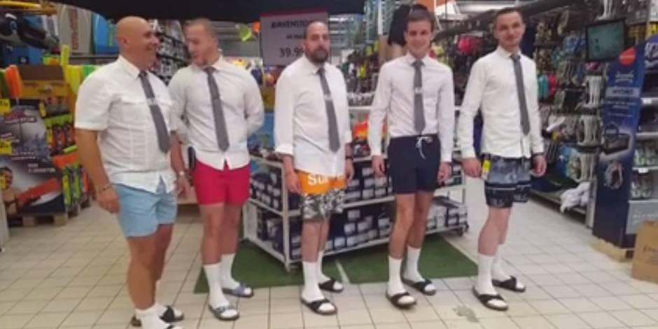 La vidéo surréaliste qui embarrasse Carrefour (VIDEO)