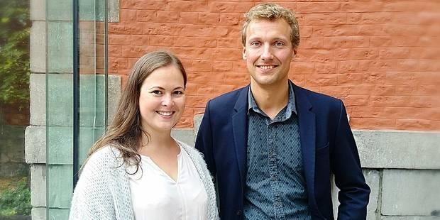 Matthieu Daele et Julie Chanson, les Verts de Theux ! - La DH