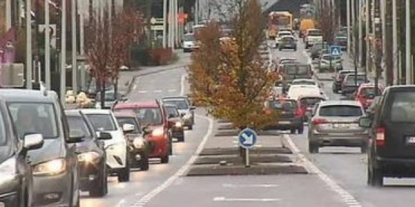 Chaussée de Louvain: ce qui a changé dans le projet bande bus - La DH