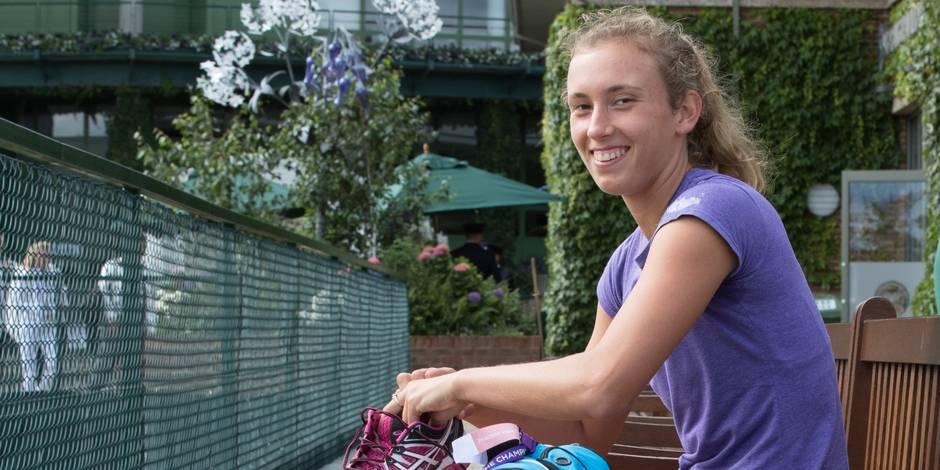 """Elise Mertens: """"Venus Williams est une légende de Wimbledon. Ce sera un beau défi"""""""