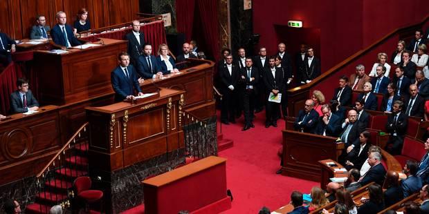 Réduction drastique des parlementaires, état d'urgence levé à l'automne: Macron parle devant le Congrès - La DH