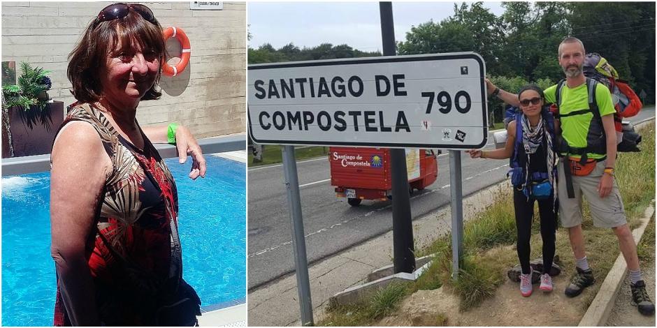 Un Belge retrouvé mort sur les chemins de Compostelle: Rita refait les étapes du pèlerinage tragique de son fils