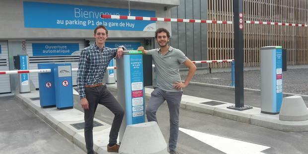 Le nouveau parking de la gare de Huy est payant - La DH