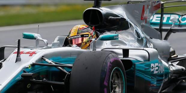 F1/GP d'Autriche Libres 2 : Le record pour Hamilton, Vandoorne pas loin d'Alonso - La DH