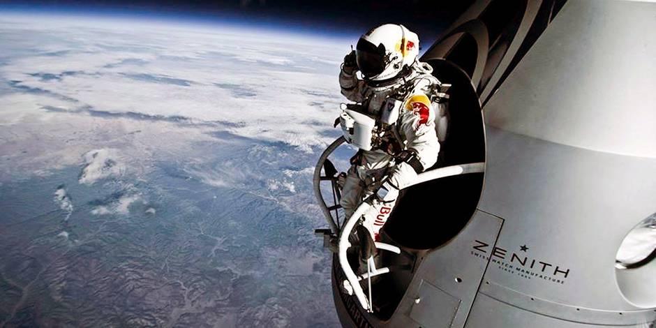 "Felix Baumgartner, héros du Red Bull Stratos en 2012: ""Pas un drogué de l'adrénaline"""