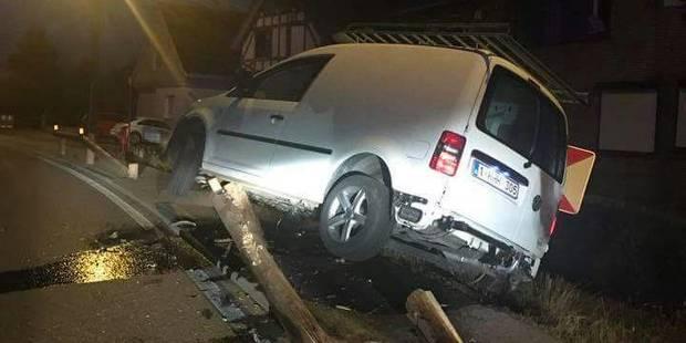 Grez-Doiceau: Encore un accident sur la chaussée de Jodoigne - La DH