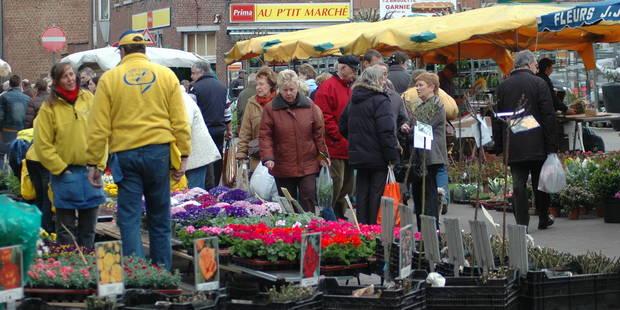 Nivelles: Le marché des fleurs de retour sur la Grand-Place? - La DH