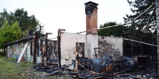 Incendie criminel à Antoing - La DH