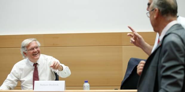 Kazakhgate: De Clerck admet avoir proposé un rendez-vous à De Decker à sa demande - La DH