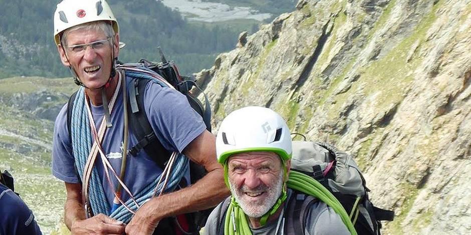 """Mort de deux alpinistes belges en Suisse: """"Jean-Chri et Alain n'étaient pas des casse-cou"""""""