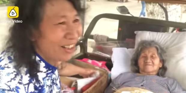 Depuis 20 ans, un homme se déguise en femme pour faire oublier à sa mère que sa fille est morte - La DH