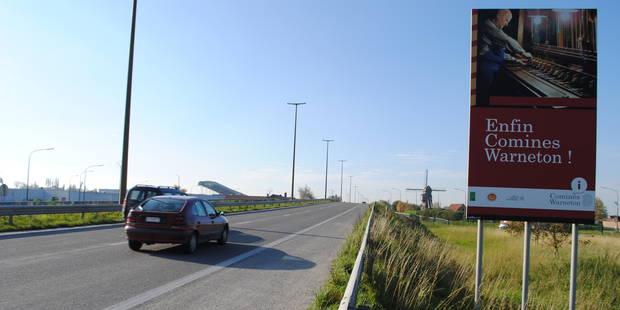 97,4% des automobilistes respectent la nouvelle limitation de vitesse sur la RN58 à Comines-Warneton - La DH