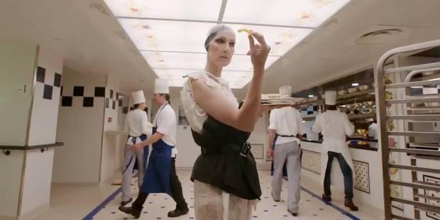 La folle vidéo de Céline Dion totalement survoltée à Paris pour Vogue - La DH