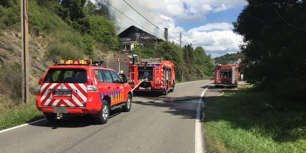 Incendies à Viroinval et Walcourt - La DH