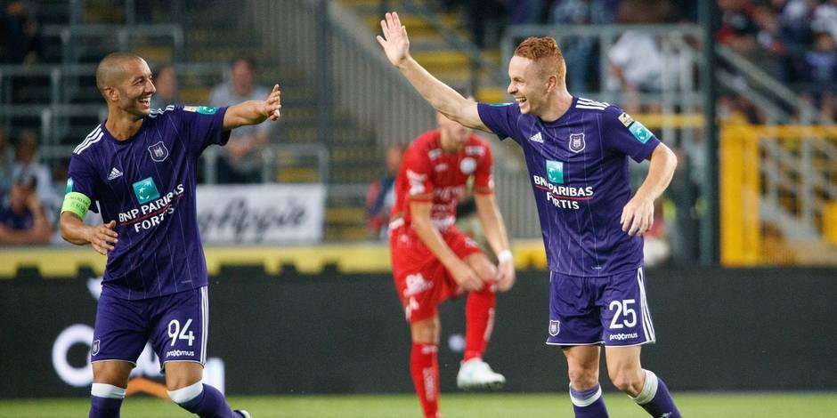 Anderlecht bat Zulte-Waregem et s'offre la Supercoupe (2-1)
