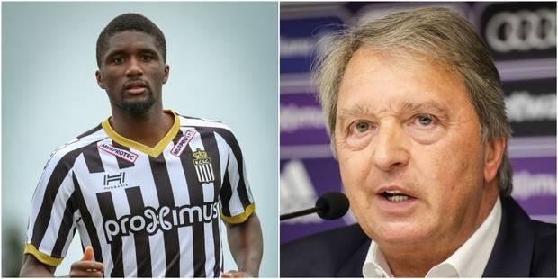 Charleroi: Mata n'exclut pas de rester encore un an et répond à Van Holsbeeck - La DH