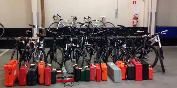 Berchem-Ste-Agathe: 14 vélos et 20 caisses à outils retrouvés dans deux garages - La DH