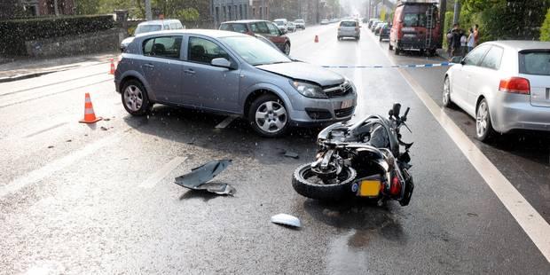 Amblève : un motard grièvement blessé ! - La DH