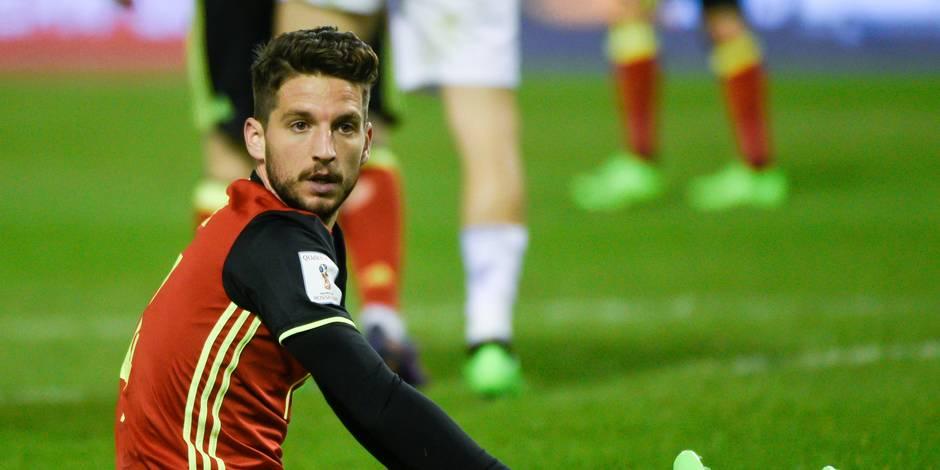 """La """"correction"""" contre l'Espagne, une leçon d'humilité pour le réaliste Dries Mertens"""