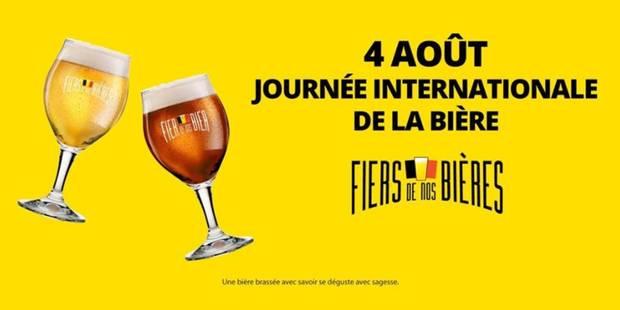 """Journée internationale de la bière: """"soyons fiers de nos bières"""" - La DH"""